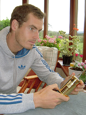 Andy Murray, tennis player