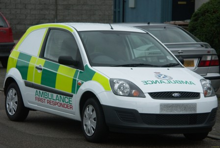 Scottish Ambulance Service First Responder vehicle