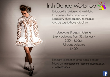 irish dance workshop