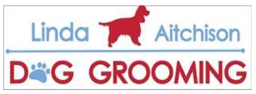 linda aitchison dog grooming logo
