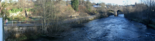 Dunblane by river