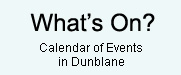 What's On Dunblane