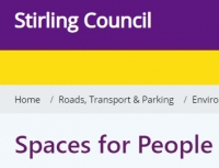 Council consults on 'Spaces for People' proposals for Dunblane