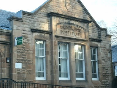 Dunblane Library open by appointment from 26th April