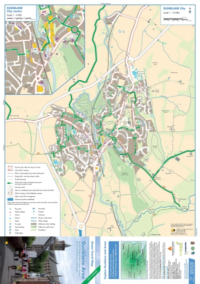 Updated Dunblane Travel Maps