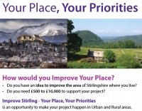 Your Place, Your Priorities: New Funding for your Community - until 16 March