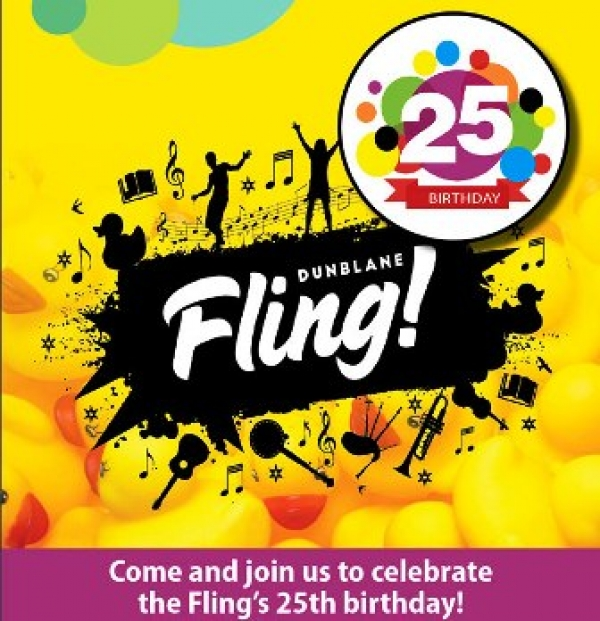 Dunblane's Fling is this week - from Thursday 24th to Sunday 27th May