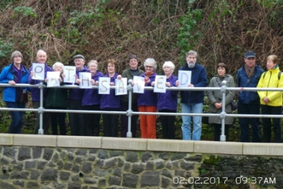 River path restored thanks to community effort led by Dunblane Development Trust