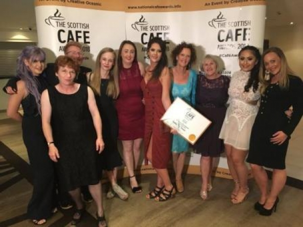 Dunblane's Another Tilly Tearoom wins award