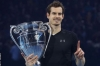 Andy wins ATP World Tour Finals and remains on top of the world! So too is Jamie!