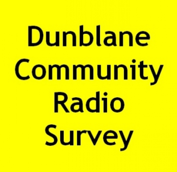 Dunblane Community Radio : Please complete our survey form