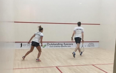 New Squash Courts Officially Open