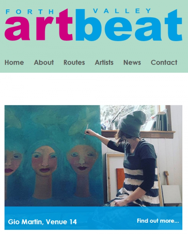 Open Studios : Forth Valley Art Beat - 10 to 18 June