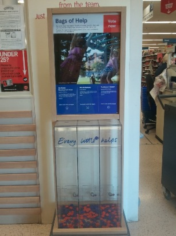 Support our volunteer groups in the Tesco Bags of Help community funding scheme