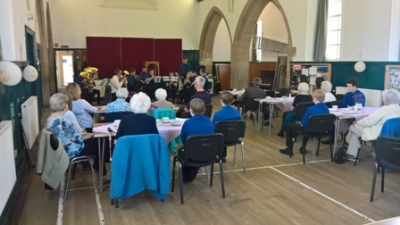 Boys' Brigade Hosts Afternoon Tea for Older People