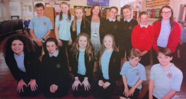 Dunblane Primary bids farewell to Head, Sally Kennedy