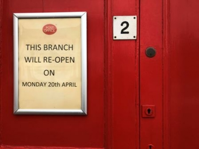 Dunblane Post Office closes for time being