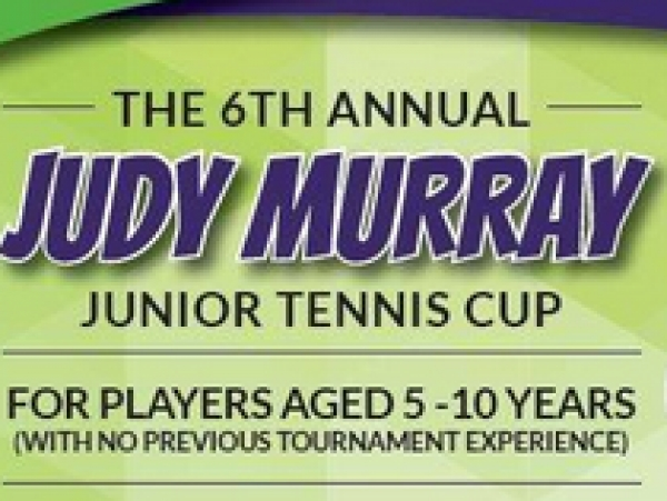 Judy Murray Junior Tennis Cup on 29 May